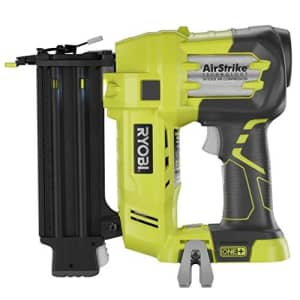 Ryobi ZRP320 ONE Plus 18V Cordless Lithium-Ion 2 in. Brad Nailer Battery and Charger Sold for $118