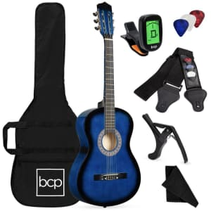 Best Choice Products Beginner Acoustic Guitar Set for $50