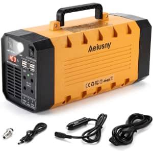 Aeiusny 500W UPS Portable Power Station for $230