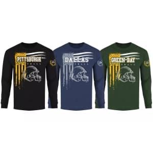 Men's Vintage Football T-Shirt for $14