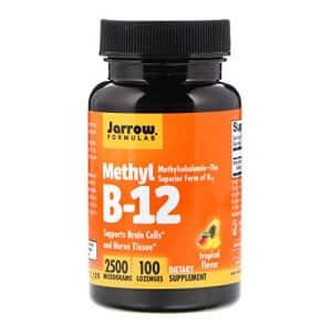 Jarrow Formulas Methyl B-12 Supplement, Tropical Flavor, 100 Count (Pack of 1) for $20