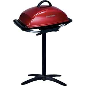 George Foreman 12-Serving Indoor/Outdoor Electric Grill for $113