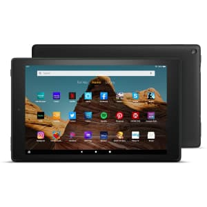 """Amazon Fire HD 10 Plus 10.1"""" 64GB Tablet (2021) for $96"""
