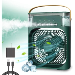 Ntmy Portable Evaportive Mini Air Cooler from $16