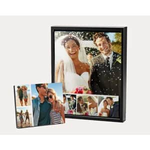 Walgreens Custom Photo Wall Decor: 75% off