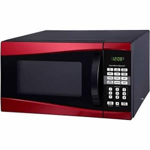 Hamilton Beach 0.9 cu ft 900W Microwave,by Product Hamilton Beach (Red) for $125