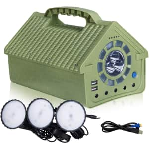 Albugreen 160Wh Portable Power Station for $120