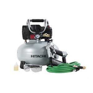 Hitachi KNT50AB 1-HP 150-PSI pancake portable electric air compressor for $425