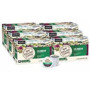 New England Coffee Colombian Decaffeinated Medium Roast K-Cup Pods 12 ct. Box (Pack of 6) for $39