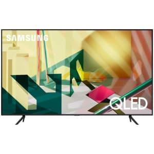 "Samsung Q70T QN65Q70TAFXZA 65"" 4K HDR QLED UHD Smart TV for $1,058"