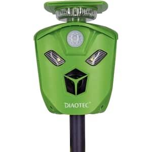 Diaotec Ultrasonic Animal Repeller for $30