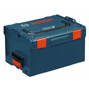 Bosch L-BOXX-3 10 In. x 14 In. x 17.5 In. Stackable Tool Storage Case,Blue for $73