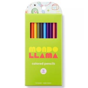 Mondo Llama 12-Count Colored Pencils for 50 cents