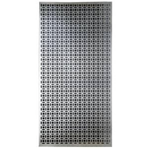 M-D Building Products Decorative Elliptical Aluminum Sheet for $12
