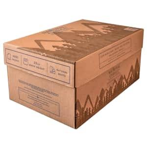 "Natural Choice 8.5"" x 11"" Multipurpose Paper 8-Ream Carton for $28"