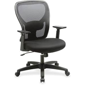 Lorell Mesh Mid-Back Task Chair for $125