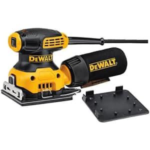 DEWALT Electric Sander, 1/4-Inch Sheet, Orbital (DWE6411) for $88