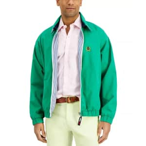 Tommy Hilfiger Men's Machine-Washable Reversible Ivy Jacket for $68