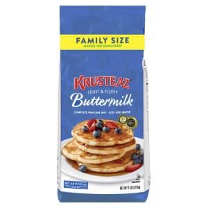 Krusteaz Complete 7-lb. Buttermilk Pancake Mix for $7