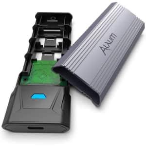 Alxum M.2 SSD Enclosure for $22