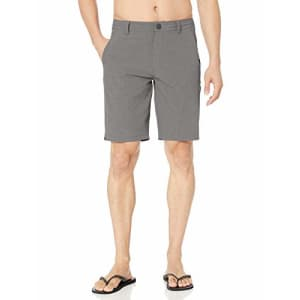 Rip Curl Men's Newport Boardwalk Hybrid Shorts, Grey, 29 for $48