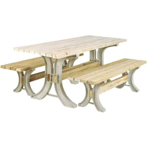2x4basics Custom Picnic Table Kit for $89