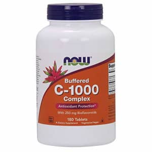 Now Foods NOW Supplements, Vitamin C-1000 Complex with 250 mg of Bioflavonoids, Buffered, Antioxidant for $14