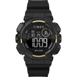 Timex Mako DGTL 44mm Silicone Strap Digital Watch for $28
