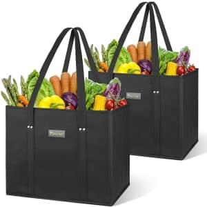 Baleine Reusable Shopping Bag 2-Pack for $11
