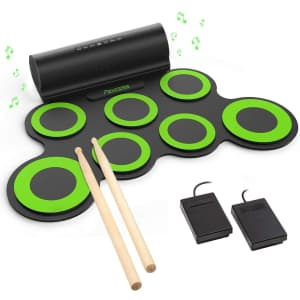 Paxcess Electronic Drum Set for $78