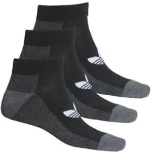 adidas Men's Originals Socks 3-Pack for $5