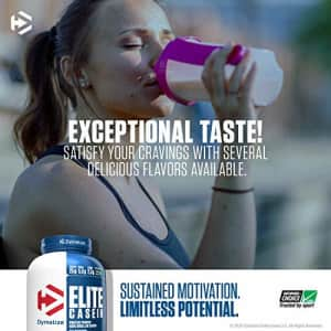 Dymatize Elite Casein Protein Powder, Slow Absorbing with Muscle Building Amino Acids, 100% for $55