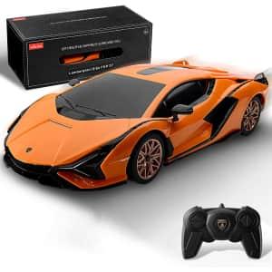 Bezgar x Raster Licensed 1:24 Scale Remote Control Lamborghini for $15