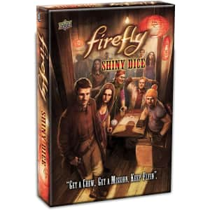 Upper Deck Firefly Shiny Dice Game for $10