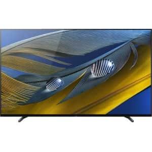 "Sony Bravia XR-65A80J 65"" 4K HDR OLED UHD Smart TV (2021) for $1,571"