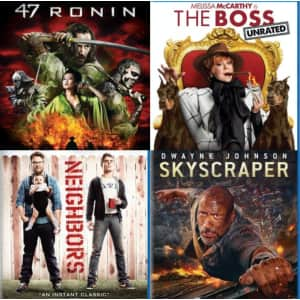 Blu-ray Warehouse Clearance at Gruv at GRUV: 2 for $6.40