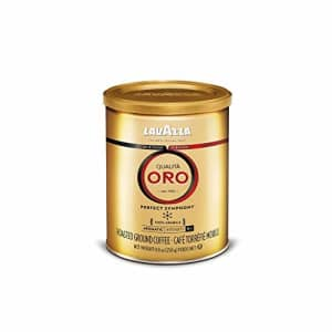 Lavazza Qualita Oro Ground Coffee Blend, Medium Roast, 8.8-Oz Cans (Pack of 6) for $35