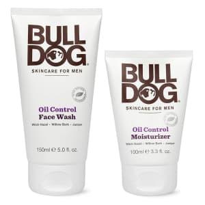Bulldog Men's Skincare and Grooming Oil Control Starter Kit for $10