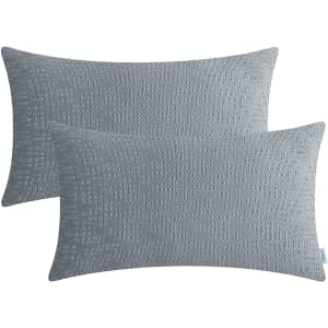 CaliTime Cushion Cover 2-Pack for $4