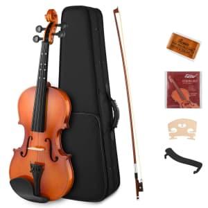Eastar 7-Piece Beginner Violin Set for $60