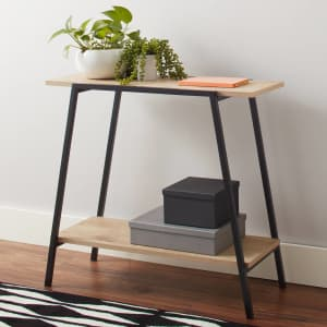 Mainstays Conrad Console Table for $40