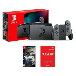 Nintendo Switch Console w/ Tony Hawk's Pro Skater 1+2 and Switch Online 12-Month Family Membership for $360