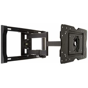 Amazon Basics Heavy-Duty Full Motion Articulating TV Wall Mount for 32-80 inch TVs up to 130 lbs, for $50