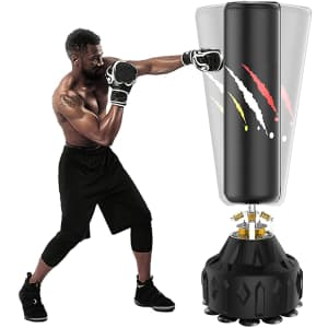 """WGCC 71"""" Punching Bag with Stand for $99"""