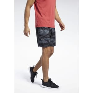 Reebok Men's Workout Ready Graphic Shorts for $12