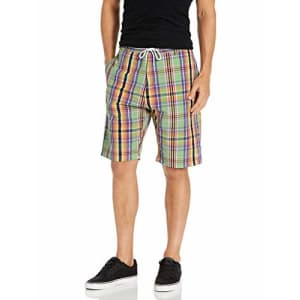 LRG Lifted Research Group Men's Choppa Shorts, Spring Green, 38 for $39