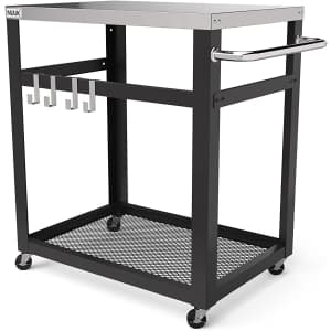Nuuk Outdoor / Kitchen Stainless Steel Cart for $99