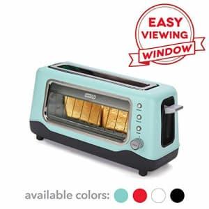 DASH DVTS501AQ Toaster 2 Slice Aqua (Renewed) for $45