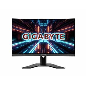 "GIGABYTE G27QC 27"" 165Hz 1440P Curved Gaming Monitor, 2560 x 1440 VA 1500R Display, 1ms (MPRT) for $447"
