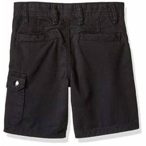 Diesel Boys' Little Casual Short, Cargo Black, 7 for $28